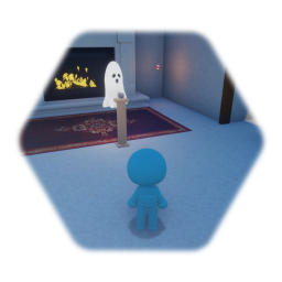 Remix of All Hallows' Dreams Haunted Room Template (Right Exit)