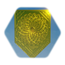 Golden Shield Crest