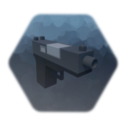 Low Poly Glock