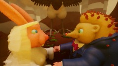 Hedgehog and Wife. VR and Non VR. With story audio.