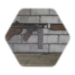 Sub-Machine Gun (M1A1 Thompson)