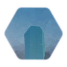 1 blue gemstone - nonglow... my fault (settings failed)