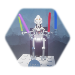 LEGO STAR WARS MINIFIGURE                GENERAL GRIEVOUS mk2