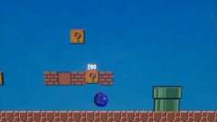 Sonic in super mario bros 1-1