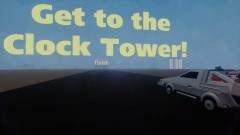 Back to the Future Clock Tower Race