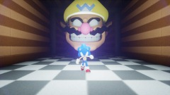 The Wario Apparition but your Sonic