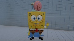 Spongebob and Gary (OLD) REMIXABLE
