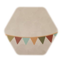 Bunting Flags - Curved