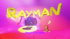 RAYMAN PS1 DREAM FOREST