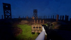 Hands In Blood-Shooting Range [WIP] Stealth and Night Time