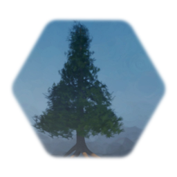 Pine tree - Paint mode