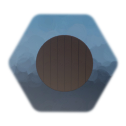 Shield - Wooden - Unmarked