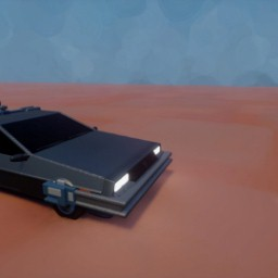 Working back to the future Delorean wip