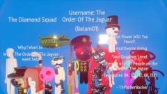 The Order Of The Jaguar want help to the Diamond Squad