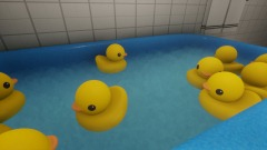 Rubber duck bath