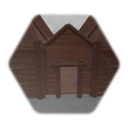 Remix of Wooden LongHouse 1