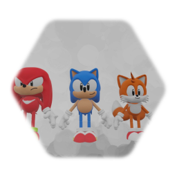 Sonic Mania Models Complete