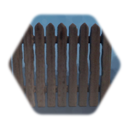 Tall Modern Wooden Fence
