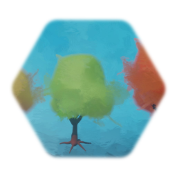 Simple colourful trees
