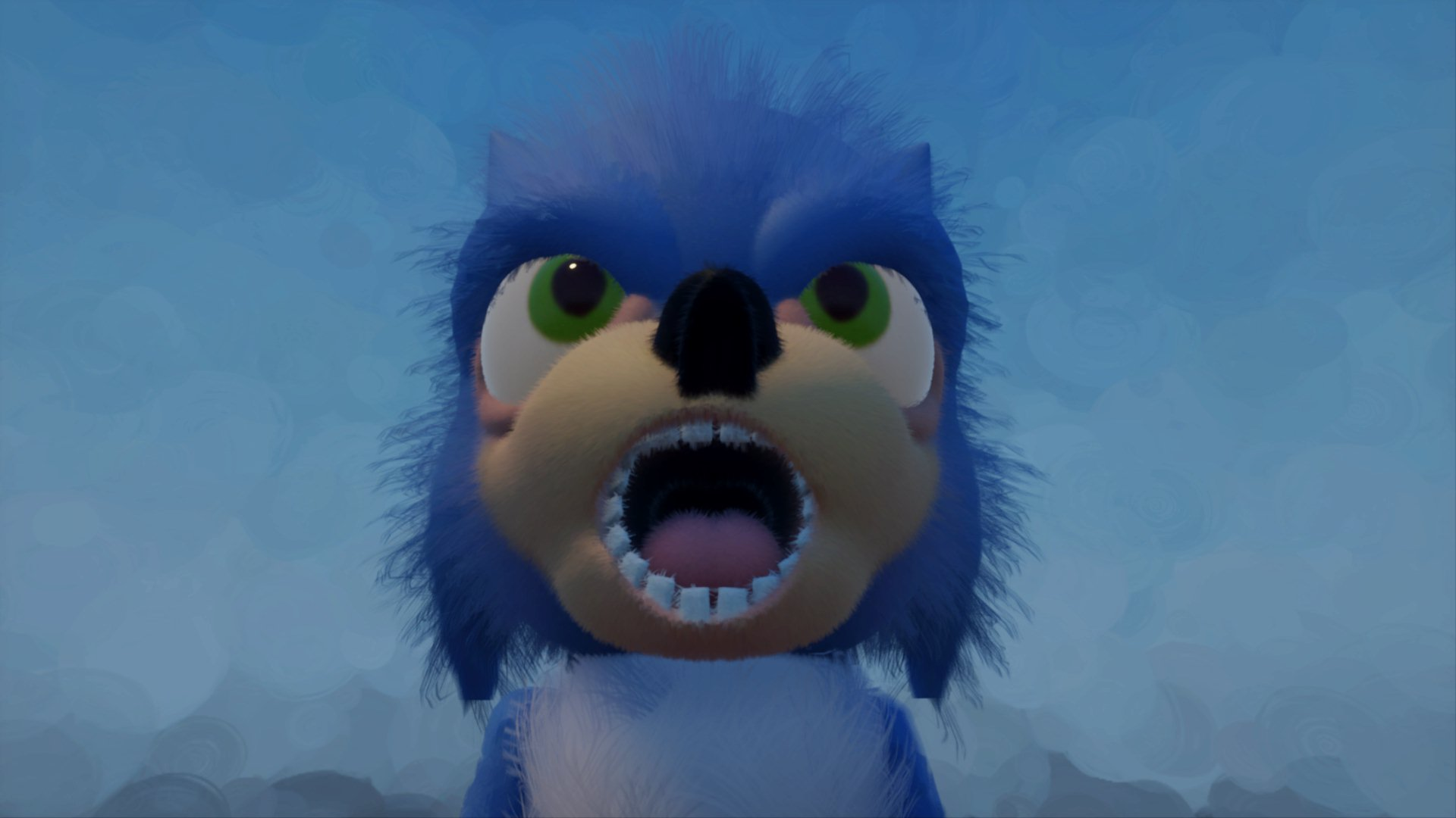 Sonic The Hedgehog 2019 Movie Design Indreams Me