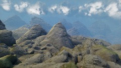 Realism with a Single Rock