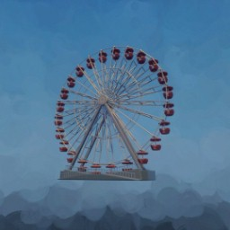 Ferris Wheel (Background, low thermo)