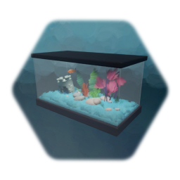 Fish Tank with Goldfish