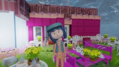 Inside Coraline's - Dining/Living/Kitchen Room! - WIP!