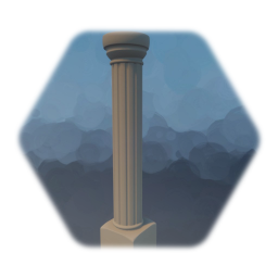 pillar - simple and without any damage - cheap