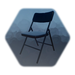 Low resolution foldable chair