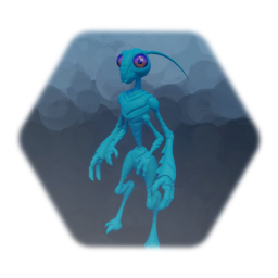 Insectoid Alien Character Base