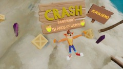 CRASH BANDICOOT: ISLANDS OF WUMPA(Alpha)