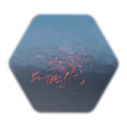 Fire Particles Effect: Remix of Small Crackling Fire