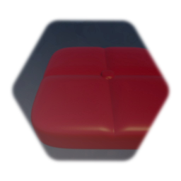 Red Cushion - Square