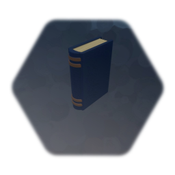Old book base model (Remix Painted)
