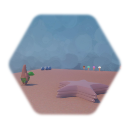 Patrick star with moveset hud and collectables version 1.0 wip