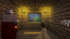 Minecraft Zombies One Window Challenge