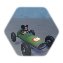 Tintiy Rally car Disney Infinity Version