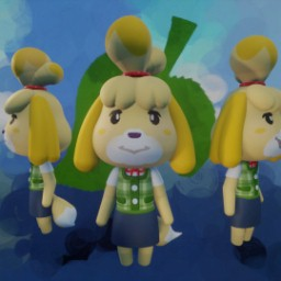 Animal Crossing - Isabelle Puppet