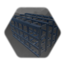 cage - Käfig - simple - for caribbean tropical islands