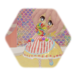 Kawaii Lollipop Girl Doll