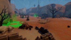 Dreams arena the wastefield map