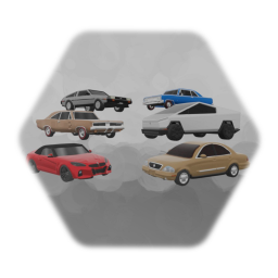 Community Car Pack #1 (WIP) 6/11
