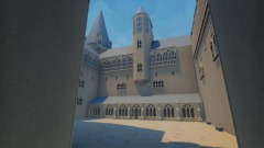Paved  courtyard and Long Gallery (3.0)