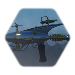 Raygun lower rez and colored (made by tannicalloy)