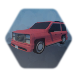 Realistic Low Thermo SUV