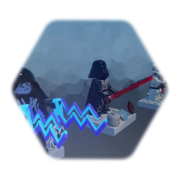 LEGO  STAR WARS DARTH VARDER and STORM trooper emperormk 3