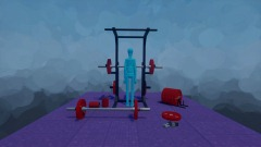 Olympic weight lifting set pieces