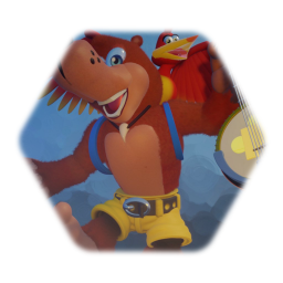 Banjo and kazooie( playable test model)