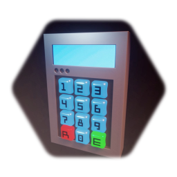 Code Combination Lock with buttons